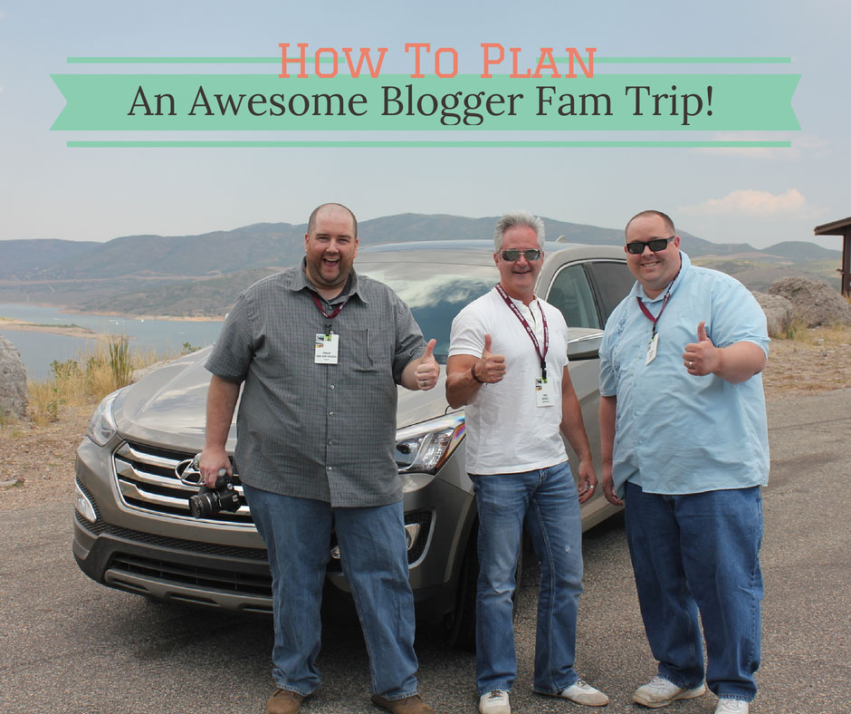 5 Tips for how to plan an awesome and successful blogger Fam Trip ; #SocialMedia